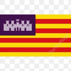 Flag - Flag Of The Balearic Islands National Flag Flag Of Spain International Maritime Signal Flags PNG