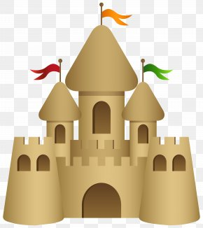 Sand Castle Transparent Clip Art Image - Sand Art And Play Drawing Clip Art PNG