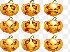 Vector Elements Halloween Pumpkin Blame - Halloween Pumpkin Jack-o'-lantern PNG