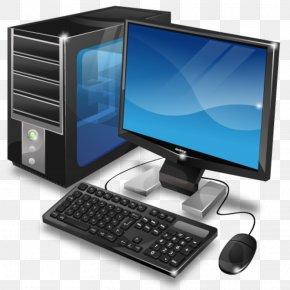 Computer Desktop PC Image - Desktop Computer Personal Computer Clip Art PNG