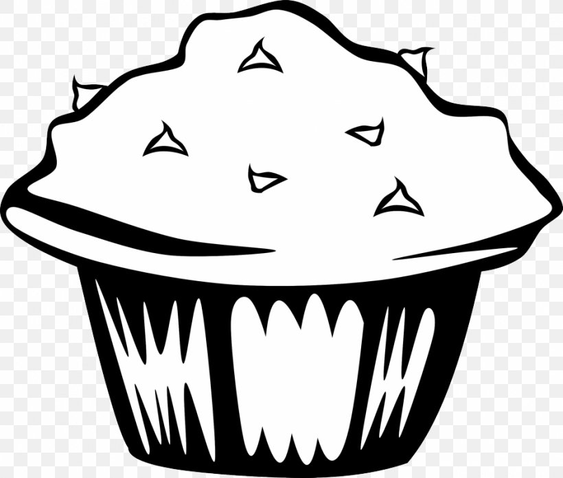 English Muffin Cupcake Pancake Breakfast, PNG, 940x799px, Muffin, Artwork, Biscuit, Black, Black And White Download Free