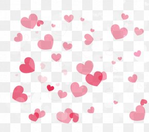 Pink Heart - Pink Drawing PNG