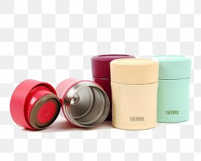 Thermos Smoldering Pot - Bento Vacuum Flask Lunchbox Crock PNG