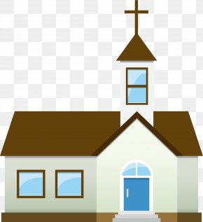 Church Vector Material - Church Cartoon Architecture PNG