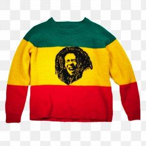 T-shirt - T-shirt Hoodie Sleeve Sweater Reggae PNG