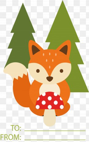 Little Fox Gift Card - Fox Gift Card PNG