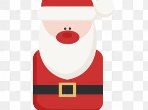 Christmas Tree Silhouette Santa Claus - Santa Claus Reindeer Christmas Day Christmas Ornament 50 BC PNG