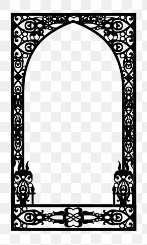 Arab Arch - Work Of Art Picture Frames Window Artist PNG
