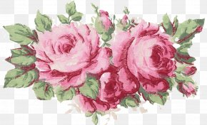Thinking Inspiration - Rose Pink Drawing Garland Clip Art PNG