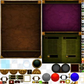 UIGAME Game Online Interface - Torchlight Game User Interface Dialog Box Download PNG