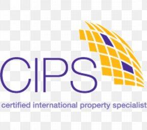 United States - National Association Of Realtors Real Estate United States Estate Agent Certified International Property Specialist® (CIPS®) Designation PNG