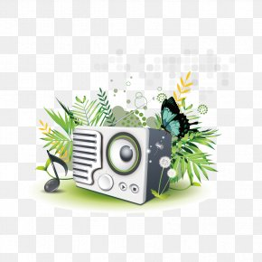 Radio And Butterflies - Norway Internet Radio Radio Broadcasting Radio Station PNG