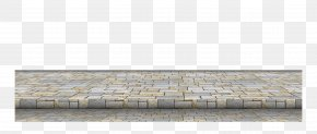 Gray Chinese Wind Brick Floor Frame Texture - Brick Floor Grey Texture Mapping PNG