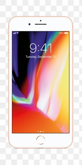 Iphone8 3d View - IPhone 8 Plus IPhone X Apple Telephone PNG