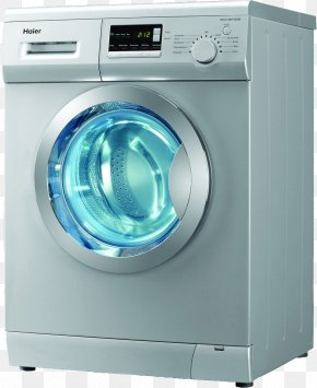 Washing Machine - Washing Machine Refrigerator Home Appliance Clothes Dryer PNG
