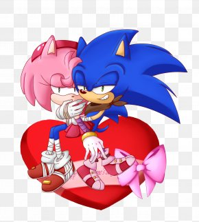Forever Love - Muffin Valentine's Day Chocolate Amy Rose PNG