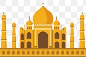 Yellow Islamic Church - Church Mosque Islam PNG