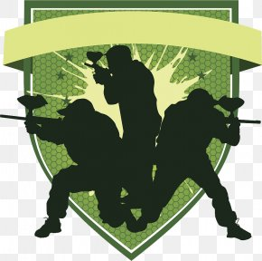 Force PPT Element Illustration - Paintball And Airsoft Battle Tactics Wallan Paintball Military Tactics PNG