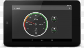 Signal Strength In Telecommunications - Electronics Motor Vehicle Speedometers Tachometer Display Device PNG