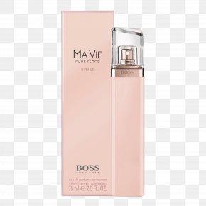 Perfume - Hugo Boss Ma Vie Body Lotion Perfume Eau De Parfum PNG