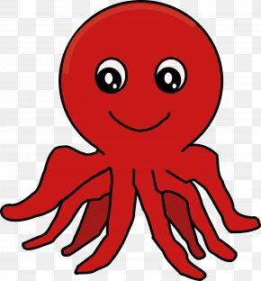 Cartoon Octopus - Octopus Clip Art PNG