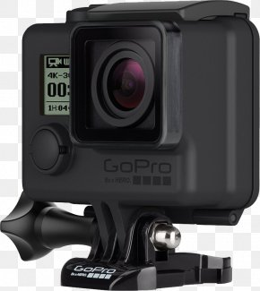 GoPro Camera - GoPro Action Camera 4K Resolution PNG