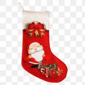 Santa Claus - Santa Claus Christmas Stockings Ded Moroz Boot PNG