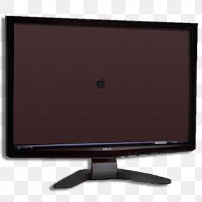 Monitor - LED-backlit LCD Macintosh Computer Monitor Icon PNG