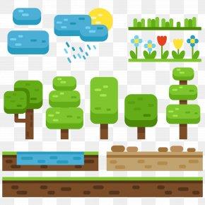 Natural Elements Vector Video Games - Video Game Element Euclidean Vector PNG