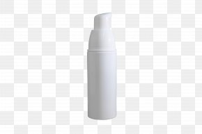 White Cosmetic Bottle - Bottle PNG