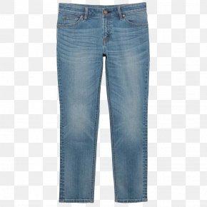 Jeans - Jeans Blue Boyfriend Trousers Denim PNG