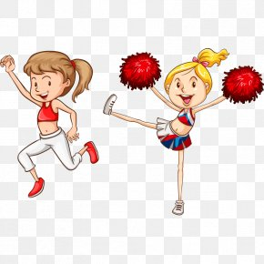 Cheerleader Material - Drawing Royalty-free Stock Illustration Illustration PNG