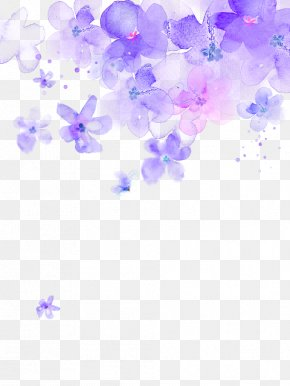 Cherry Blossom - Desktop Wallpaper Cherry Blossom Watercolor Painting PNG