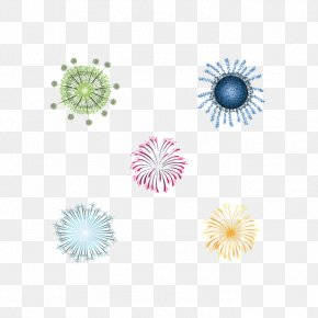 Color Fireworks Vector Material - Adobe Fireworks PNG