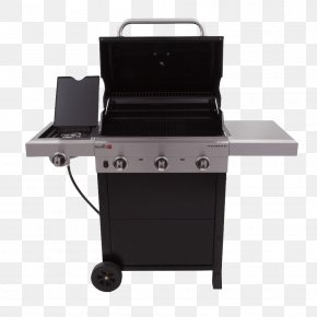 Gas Grill Smoker - Barbecue Grilling Char-Broil 3 Burner Gas Grill Char-Broil Patio Bistro PNG
