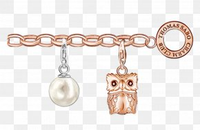 Golden Imprint - Earring Charm Bracelet Charms & Pendants Sterling Silver Jewellery PNG