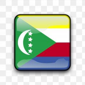 White Flag - Flag Of The Comoros Comoro Islands National Flag PNG