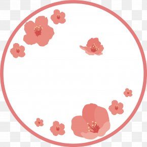 Simple Cherry Label - Japan Euclidean Vector Label Cherry Blossom PNG