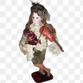 Doll - Automaton Doll Vintage Clothing Antique Jumeau PNG