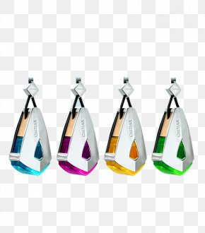 Four Bottles Of Perfume Car Ornaments Of Different Colors - Perfume O Ha PNG