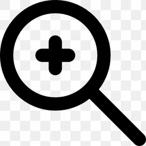 Button - Zooming User Interface Button Magnifying Glass PNG