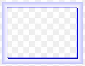 Blue Border Frame Photos - Square Area Purple Pattern PNG