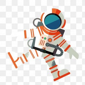 Astronaut Vector Material - Astronaut Outer Space Euclidean Vector PNG