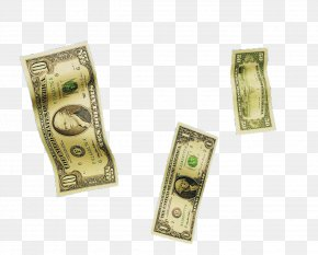 3 Falling Dollar Bill - Cash Banknote United States One Hundred-dollar Bill United States Dollar Money PNG
