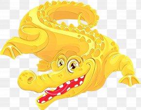 Yellow Stock Photography - Crocodile Cartoon PNG