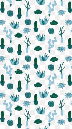 Cactus Background - Cactaceae Watercolor Painting Drawing Succulent Plant PNG