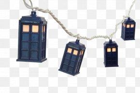 Season 1 TARDIS Lighting Weeping AngelString Lights - Doctor Who PNG