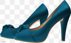 Blue Women Shoes Image - Shoe Boot High-heeled Footwear Sneakers PNG