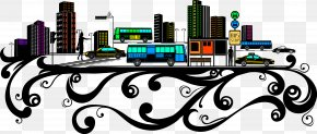 Vector City - New York City Architecture Euclidean Vector Clip Art PNG