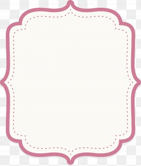 Cute Baby Powder Text Border - Icon PNG